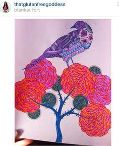 Inspirationalcoloringpages Coloringbooks Livrosdecolorir Jardimsecreto Secretgarden Florestaencantada Enchantedforest Reinoanimal