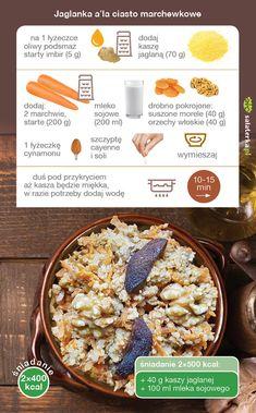 Vegan Food, Vegan Recipes, Smoothie, Food Ideas, Good Food, Bread, Breakfast, Diet, Morning Coffee