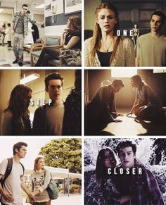 Lydia and Stiles. I can't get over how perfect they are together.