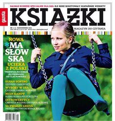 Dorota Masłowska Książki. Magazyn do Czytania nr 6
