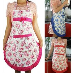 Cren Princess Polka Dot Cotton Apron Adult Cooking Kitchen Bib Bow Pocket Dress CREN http://www.amazon.com/dp/B00X6TR9QU/ref=cm_sw_r_pi_dp_m1Gsvb1PW35XQ