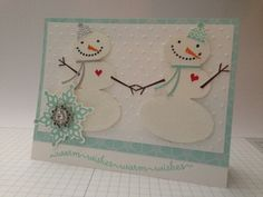 Snowy Day Friends by Lmaco - Cards and Paper Crafts at Splitcoaststampers