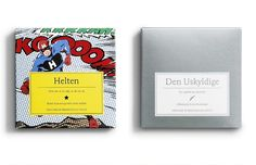 Awesome chocolates designed in cooperation with chocolate artist Henrik Konnerup.