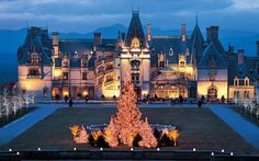 Biltmore - Vanderbilt Estate in NC Biltmore Estate Asheville Nc, Asheville Restaurants, Biltmore North Carolina, The Places Youll Go, Places To Go, Biltmore Christmas, Stars, Xmas, Bon Voyage