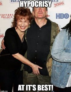 Joy Behar .. professional hypocrite