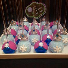 Frozen Cake Pops