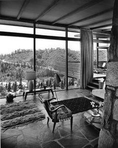 L.A. House - Greta Magnusson Grossman, Architect. En pionjär och kvinna. Fantastiska vyer och rum.