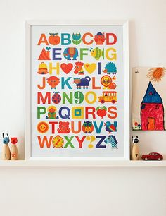 Alphabet print for u lizzie