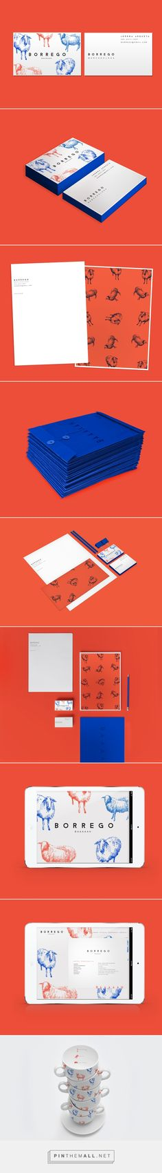 Borrego Branding on Behance | Fivestar Branding – Design and Branding Agency & Inspiration Gallery