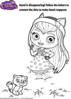 baby hazel coloring pages - photo#11