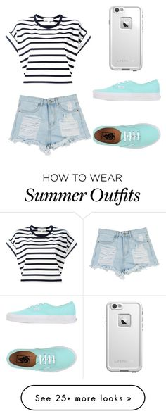 """""""Summer outfit"""" by lindseywalicki123 on Polyvore featuring Vans, Vanessa Bruno Athé and LifeProof"""