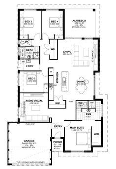 Hibiscus Acreage House House Plans By Www Buildingbuddy Com Au Home Designs Main Acreage House Plans X House Ideas Pinterest House Custom