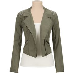 Printed shoulder lightweight moto jacket ($49) ❤ liked on Polyvore featuring outerwear, jackets, rider jacket, biker jacket, moto jacket, motorcycle jacket and light weight jacket
