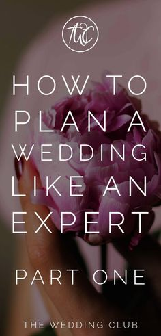 How to plan a wedding like an expert (part one) - more and more brides are planning their own wedding. This article will help you to plan your own wedding, with expert planning tips on everything wedding-related. Wedding advice are giving for each aspect to help you plan your dream wedding day! #wedding #planning #weddingtips #howtoplanaweddingeverything