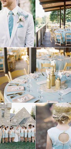 Mint blue whimsical garden styled wedding.  Wow!  A Wanaka Wedding.