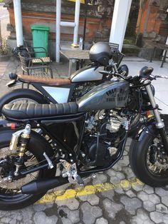 Yamaha 220 cc Bratstyle