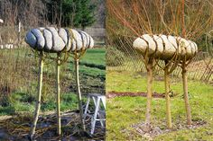 Living Sculpture Alastair Heseltine.  I am so in love.