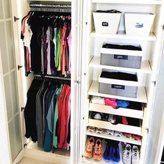 For master closet. // Nothing like an #organized workout wardrobe to motivate you to meet your fitness #resolutions! 2016's #4 of 5 top images! 🏃🏼🏃🏼♀️