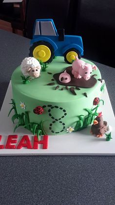 Farm Cake - Homemade By Hollie.