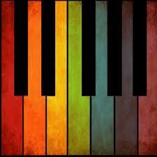 rainbow piano..