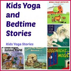 story books, kid yoga