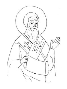Herald Store Free St Ignatius of Loyola coloring page p