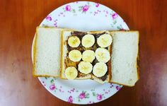 I was hungry I needed something that would last more than just one serving and this shot me to the moon.  Bread slice banana some peanut butter. Easy and this aint cheatin'. About 800 cals.  #eraofthegeeks #fitness #liftinggeeks #gym #workout #muscles #flex #igfitness #igfit #instafit #instafitness #gains