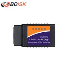 Best Price $8.25, Buy 2017 Wireless ELM327 Wifi V1.5 Auto OBD2 Diagnostic Tool ELM 327 WIFI OBDII Scanner V 1.5 For Both Android / IOS