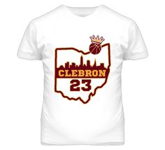 Youth Clebron Lebron James Cleveland Cavaliers T-Shirt
