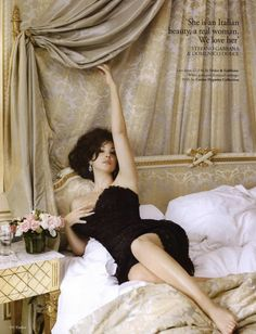 Tatler Editorial February 2011 - Monica Bellucci by Ruven Afanador