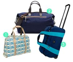 Beat the Workweek Blues With the Perfect-size Weekender Bag