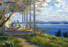 Island Retreat ~ by Randy Van Beek