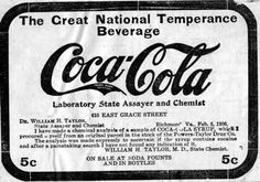 SLOGANS and ADVERTISING ART | The Great National Temperance Beverage (1906)