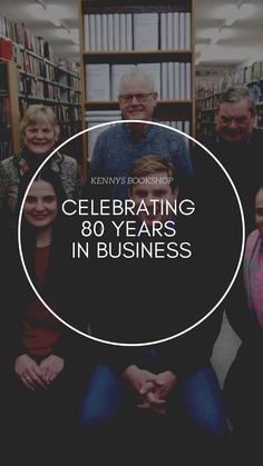 Kennys BOOKSHOP Celebrating 80 years in business.  #familybusiness #galway #kennysbookshop Family Business, Over The Years, Celebrities, Movie Posters, Movies, Film Poster, Films, Celebs, Movie