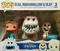 Walmart Exclusive Frozen Marshmallow POP Set - Visit http://popvinyl.net/pop-vinyl-news/walmart-exclusive-frozen-marshmallow-pop-set/ for more information - #funko #popvinyl #Funkopop #Elza, #Frozen, #Funko, #Marshmallow, #Olaf, #PopVinyl, #UpcomingPopVinyls, #Walmart