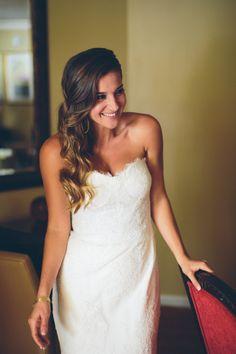 Dress: Monique Lhuillier…