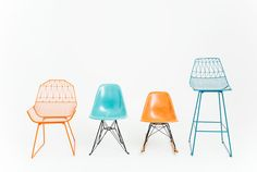 Superbe The Cool Kids: Bend Farmhouse Wire Chair, Eames Eiffel Chairs, Bend Highboy  #yeahrentals