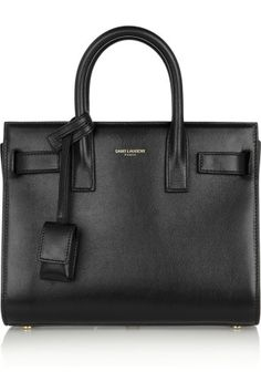 Saint Laurent | Sac De Jour Nano Baby leather tote | NET-A-PORTER.COM
