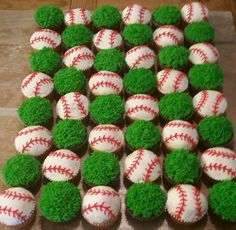 43 Ideas Baby Shower Themes For Boys Baseball First Birthdays Baseball Theme Birthday, Sports Birthday, Sports Party, Baseball Themed Baby Shower, Boy Birthday Cupcakes, Baseball Wedding Shower, Birthday Cookies, 1st Birthdays, First Birthday Parties