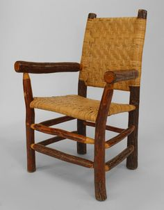 Rustic Old Hickory seating chair/set hickory Log Chairs, Patio Chair Cushions, Patio Chairs, Outdoor Chairs, Old Hickory Furniture, Hickory Chair, Rustic Furniture, Double Rocking Chair, Barber Chair For Sale