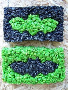 Crazy Halloween Rice Crispy Treats
