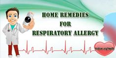 Voidcan.org shares with you simple and easy home remedies for respiratory allergies.