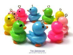 Resin pendant ducklings