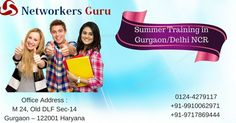 Get the advantage of this summer and join Networkersguru for best and beneficial summer training in Gurgaon/Delhi NCR. It is really very helpful to raise your knowledge graph with depth practical knowledge.
