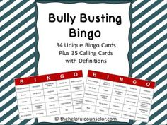 Bullying Prevention Awareness Lessons and a Giveaway! - The Helpful Counselor