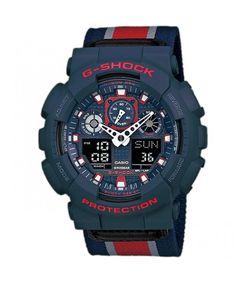 Relógio Casio Masculino G-Shock GA-100MC-2ADR