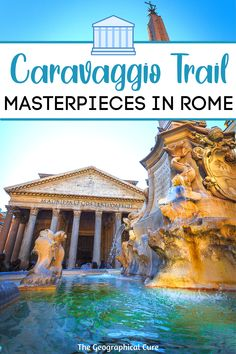 Rome Museums, Museum Guide, Rome Itinerary, Day Trips From Rome, Hiking Europe, Baroque Art, Rome Travel, Caravaggio, Ancient Ruins