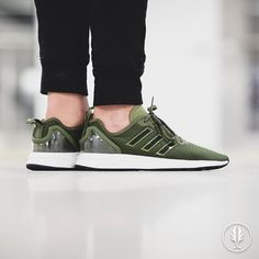 """Adidas ZX Flux Adv"" Olive Cargo 