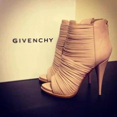 Givenchy shoes -- I love the nude shoes!! It would go with every outfit, I bet!