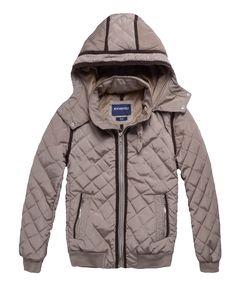 100% poly memory 100% piel poly PV 2 bolsillos Cierre de metal hoodie Removible Boton y puño elastico en muñecas Importado| MXN649.00